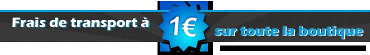 Livraison pour 1 euro si vous payez par versement bancaire !
