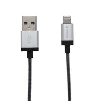 Accessoires Verbatim 48854 0.3m USB A Eclairage Argent câble USB - 91713