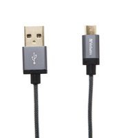Accessoires Verbatim 48856 1.2m Micro-USB B USB A Gris câble USB - 91706