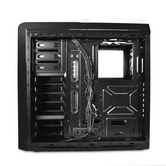 boitiers midi nzxt phantom 410 noir et blanc. Black Bedroom Furniture Sets. Home Design Ideas