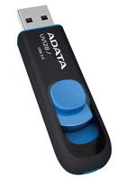 Clés USB AData 64GB DashDrive UV128 64Go USB 3.0 (3.1 Gen 1) Type A Noir, - 83158
