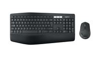Claviers Logitech MK850 RF Wireless + Bluetooth AZERTY Belge Noir clavier - 100515