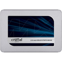 Disques SSD Crucial MX500 500Go 2.5