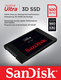 Disques SSD Sandisk Ultra 3D disque SSD 2.5