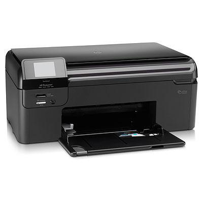 imprimantes tout en un hp photosmart wireless e all in one printer b110. Black Bedroom Furniture Sets. Home Design Ideas