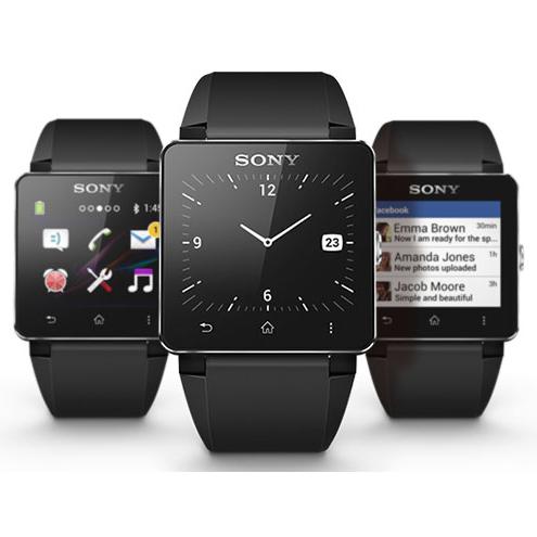 montre connect e sony smartwatch 2 noir metal. Black Bedroom Furniture Sets. Home Design Ideas