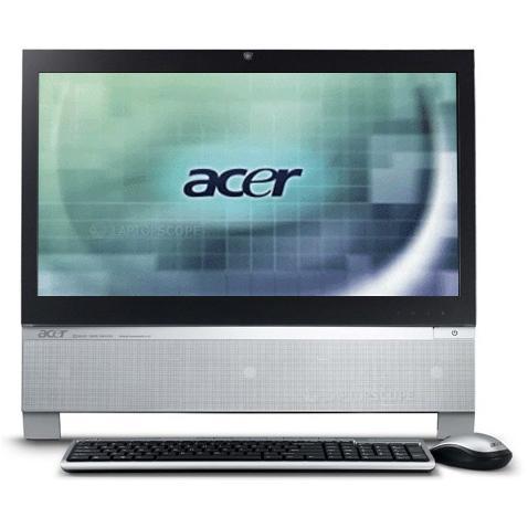 ordinateurs tout en un acer aspire z3730. Black Bedroom Furniture Sets. Home Design Ideas
