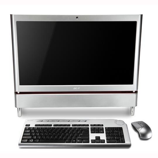 ordinateurs tout en un acer aspire z5610 aio 500go. Black Bedroom Furniture Sets. Home Design Ideas