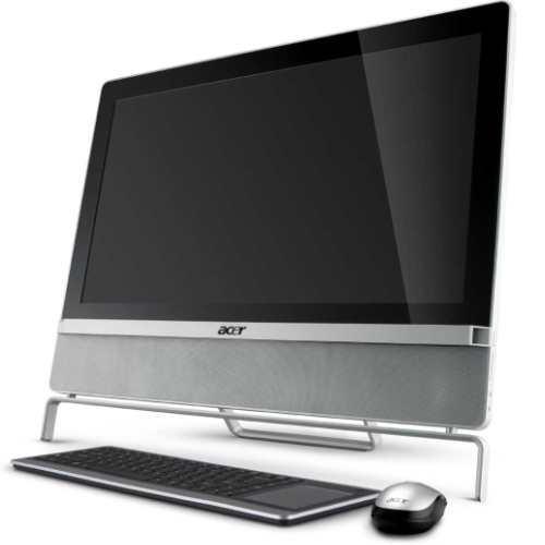 ordinateurs tout en un acer aspire z5801 h67. Black Bedroom Furniture Sets. Home Design Ideas