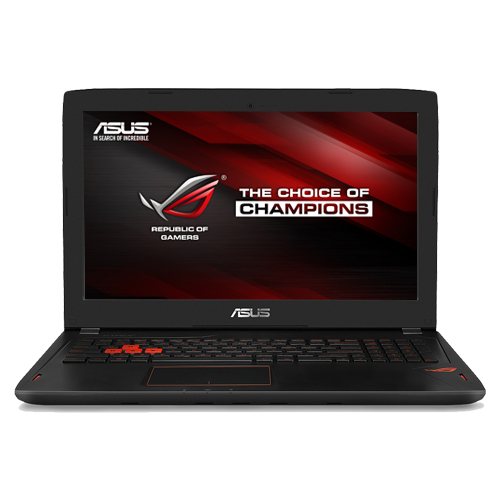 pc portable asus gamer asus rog gl502vm fy022t be 2 6ghz. Black Bedroom Furniture Sets. Home Design Ideas