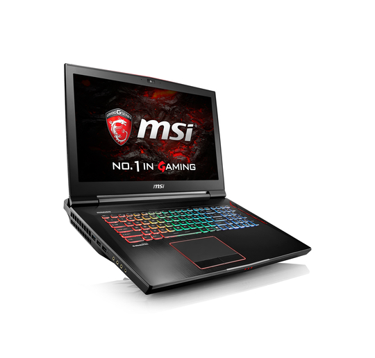 pc portable msi gamer msi gaming gt73vr 6re titan 4k 046be 2 7ghz i7 6820hk 17 3. Black Bedroom Furniture Sets. Home Design Ideas