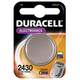 Piles et chargeurs Duracell CR2430 3V - 47403