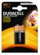 Piles et chargeurs Duracell Plus Power, 9V, alkaline - 47405