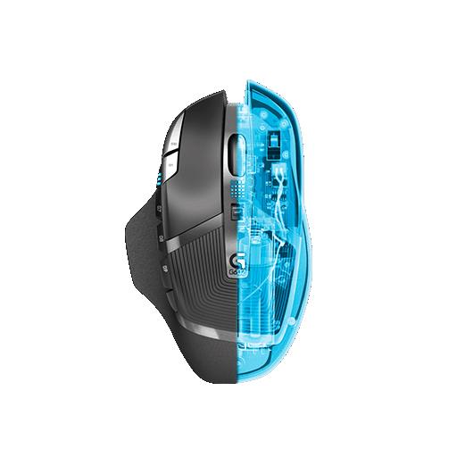 souris logitech g602 wireless gaming mouse. Black Bedroom Furniture Sets. Home Design Ideas