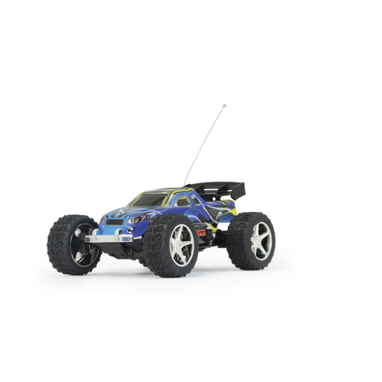 voiture rc jamara mini racing truggy s2 1 43 27 mhz. Black Bedroom Furniture Sets. Home Design Ideas