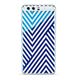 Huawei 51991999 Housse Bleu, Blanc Housse de protection pour