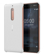 Nokia Carbon Fiber Design Case CC-803 Housse Blanc