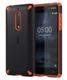 Nokia Rugged Impact Case CC-502 Housse Noir, Orange