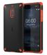 Nokia Rugged Impact Case CC-501 Housse Noir, Orange
