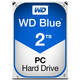 Western Digital Blue disque dur 2000 Go Série ATA III