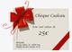 Hitechpc Chèque cadeaux Fetes de fin d'annee 25 euros