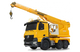 Jamara Mercedes Liebherr Truck-mounted crane Moteur électrique