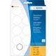 Herma 2277 étiquette auto-collante Transparent Circle 240 pc(s)