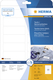 Herma 4588 étiquette auto-collante Blanc Rectangle aux angles