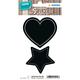 Herma 15412 Permanent Noir 4pièce(s) étiquette auto-collante