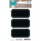 Herma 15413 Permanent Noir 6pièce(s) étiquette auto-collante