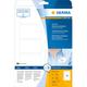 Herma 4514 étiquette auto-collante Blanc Rectangle aux angles