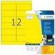 Herma 8029 étiquette à imprimer Jaune Imprimante d'étiquette