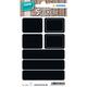 Herma 15094 étiquette auto-collante Noir Rectangle aux angles