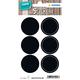 Herma 15092 étiquette auto-collante Black Circle Permanent 12