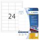 Herma 4582 étiquette à imprimer Blanc Imprimante d'étiquette
