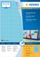Herma 4547 étiquette auto-collante Blue Rectangle 4800 pc(s)