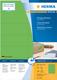 Herma 4559 étiquette auto-collante Vert Rectangle 1400 pièce(s)