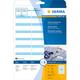 Herma 4513 étiquette auto-collante Bleu, Blanc Rectangle aux