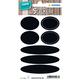 Herma 15093 Permanent Noir 14pièce(s) étiquette auto-collante