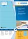 Herma 4558 étiquette auto-collante Blue Rectangle 1400 pc(s)