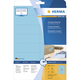 Herma 4553 étiquette auto-collante Bleu Rectangle 320 pièce(s)