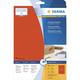 Herma 4552 étiquette auto-collante Rouge Rectangle 320 pièce(s)