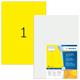 Herma 8037 étiquette à imprimer Yellow Self-adhesive printer