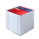 Herlitz 10410801 Distributeur de papier à note Carré Plastique