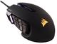 Corsair Scimitar PRO souris USB Optical 16000 DPI Right-hand Black