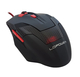 LC-Power m713B souris USB Optical 2400 DPI Right-hand Black,Red