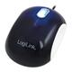 LogiLink Cooper souris USB Optical 1000 DPI Ambidextrous Black,White