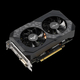 Asus TUF-GTX1660-O6G-GAMING GeForce GTX 1660 6 Go GDDR5