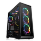 Thermaltake View 32 Tempered Glass RGB Edition Boîtier Midi-tour Noir
