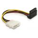 Delock Cable courant SATA HDD - 4 pin male – Angle